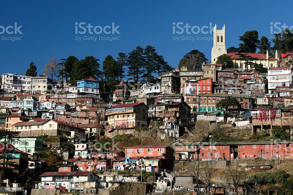India, Shimla, Himalaya mountains - Royalty-free Asia Stock Photo