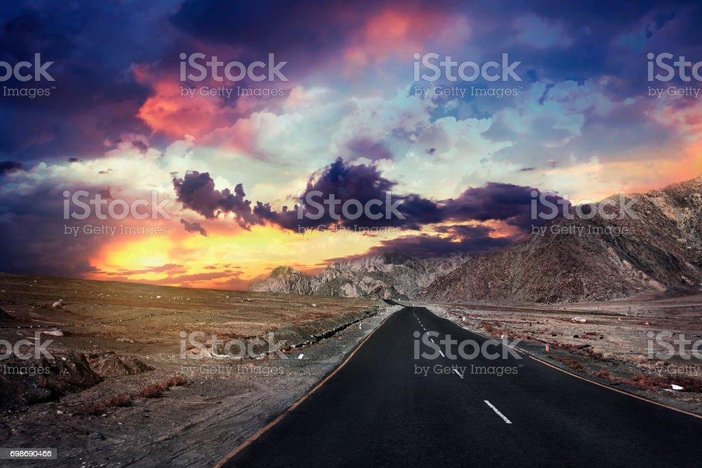 Indien, Himalaya, Ladakh, Bergstraße, der pass – Foto