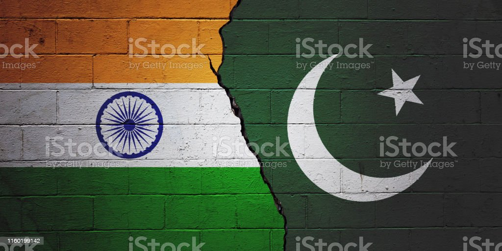 India vs Pakistan - Royalty-free Agreement Stock Photo