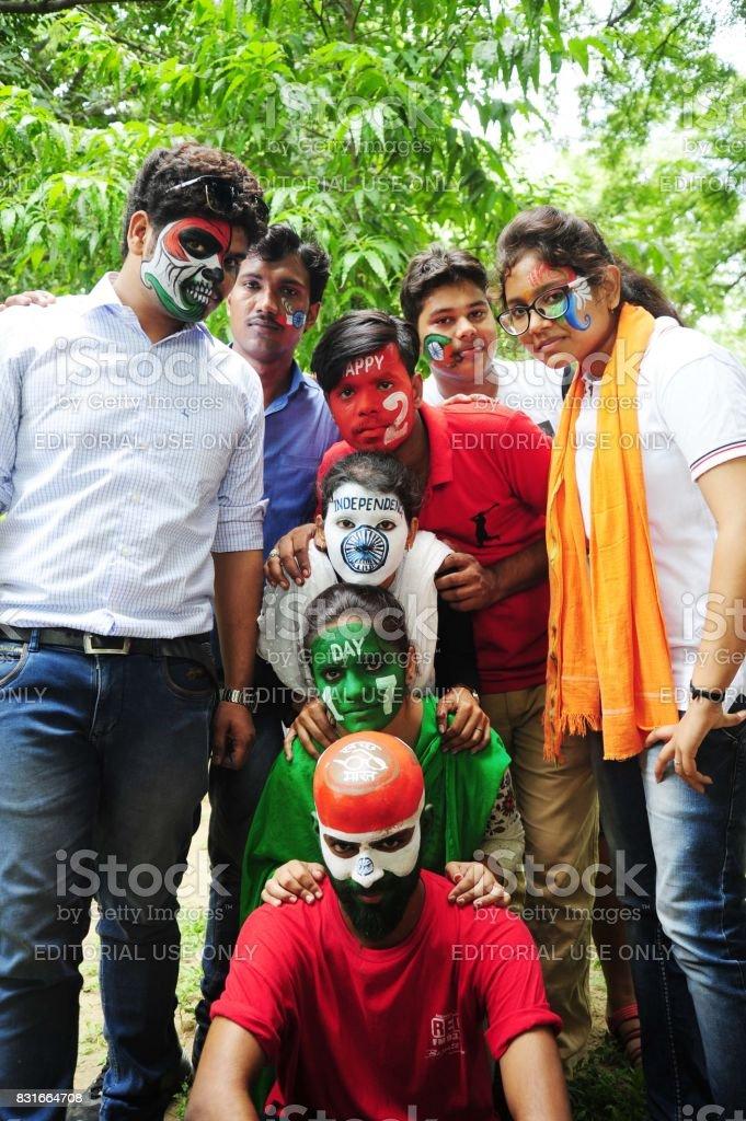 India-Independence Day Celebration stock photo