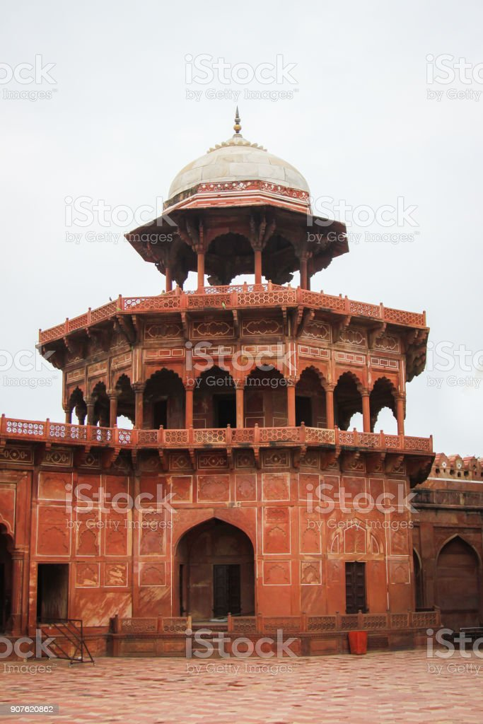 Indian Architecture in Agra stock photo