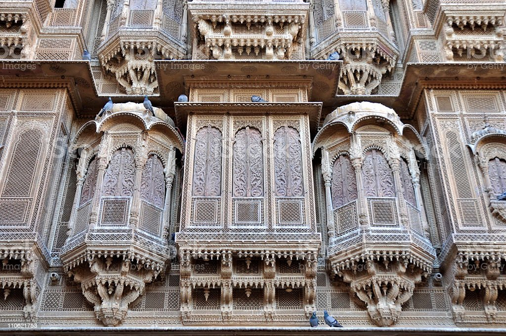 Indian architecture royalty-free stock photo