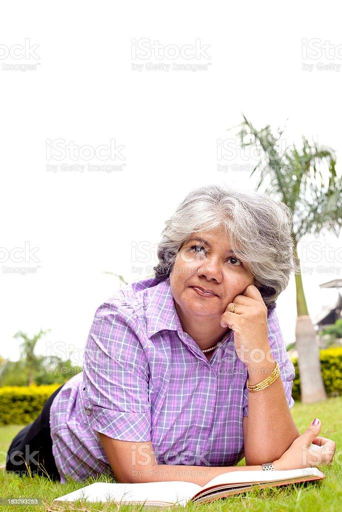 Indian mature adult
