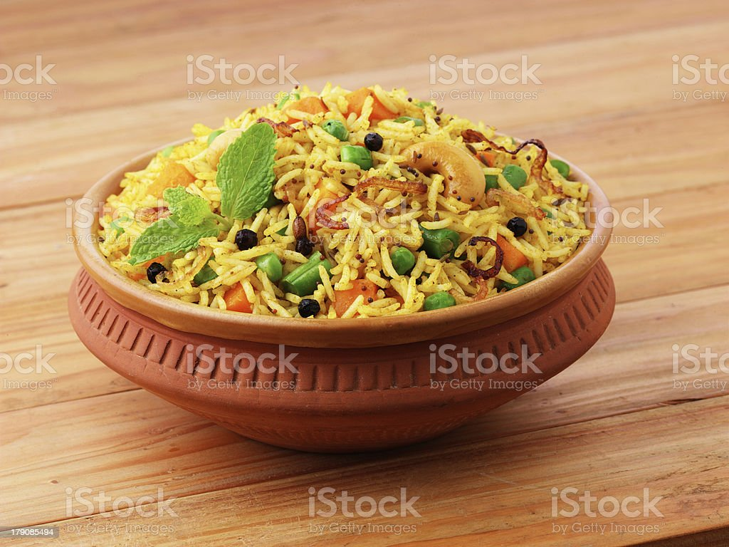 Indian Biryani stock photo