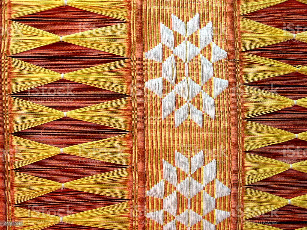 Indian Blanket Pattern royalty-free stock photo