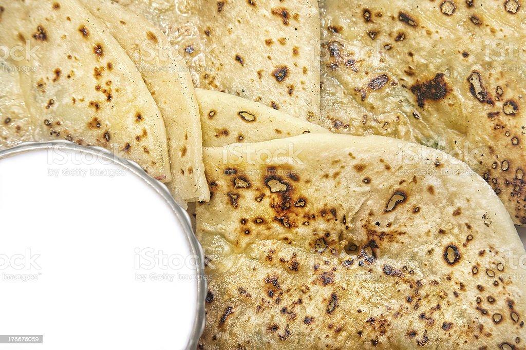 Indian desayuno foto de stock libre de derechos