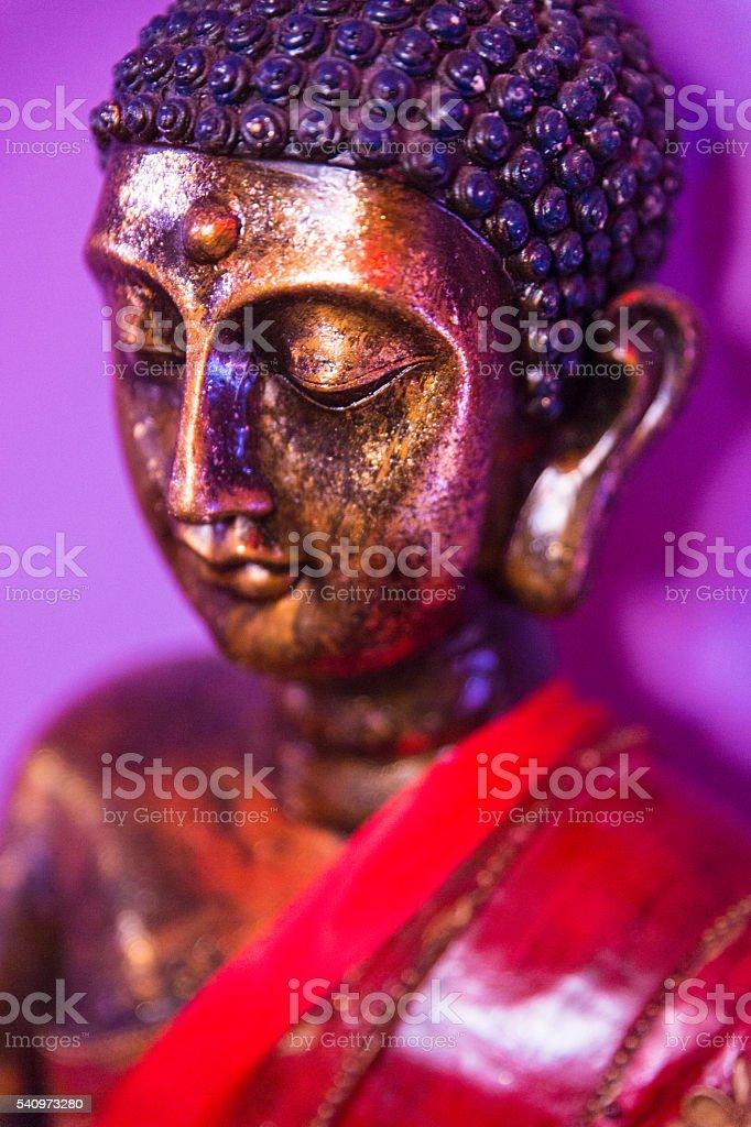 Indian Buddha statue stock photo