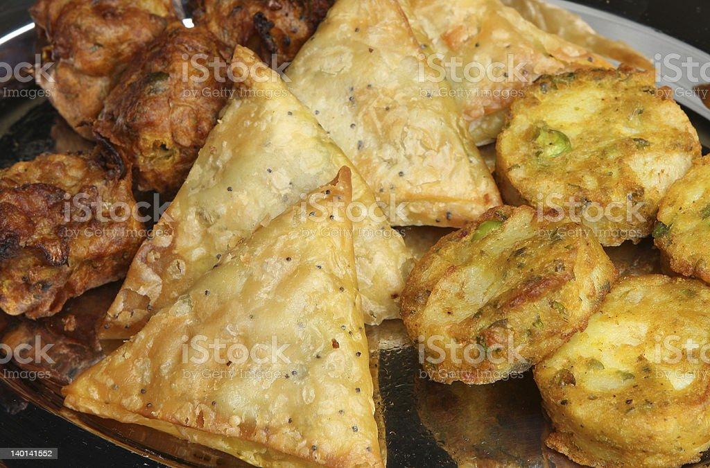 Indian Buffet Food royalty-free stock photo