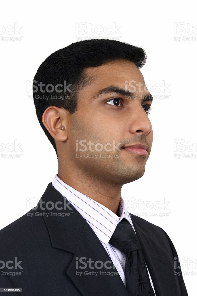 Indian business man royalty-free stock photo