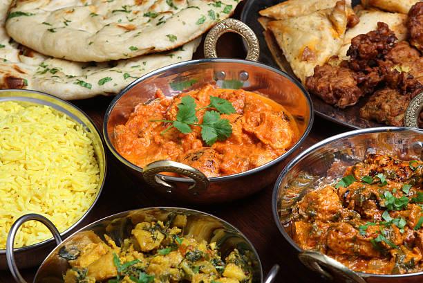 indian manteiga, curry de frango - caril - fotografias e filmes do acervo