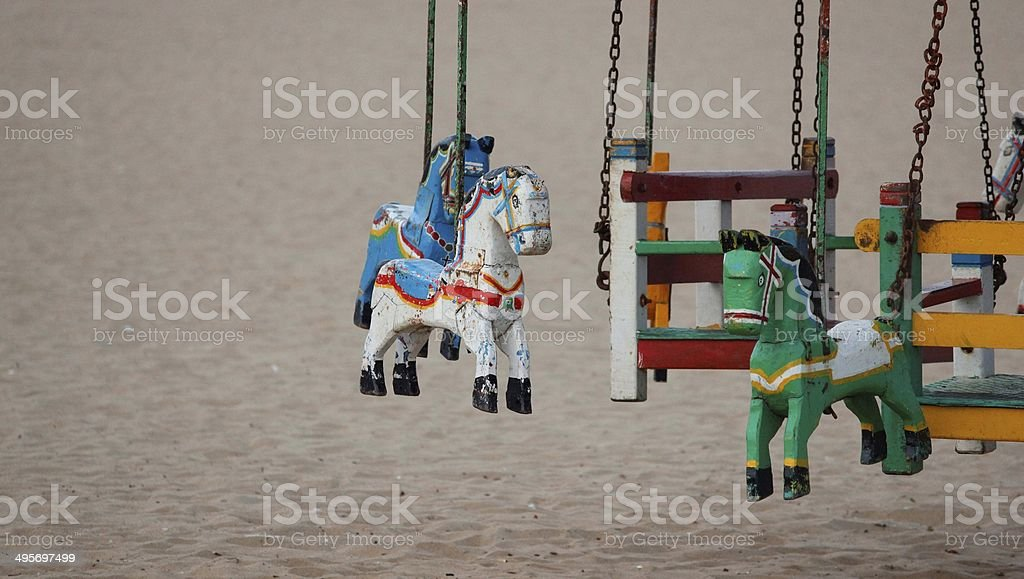 Indian Carousel royalty-free stock photo