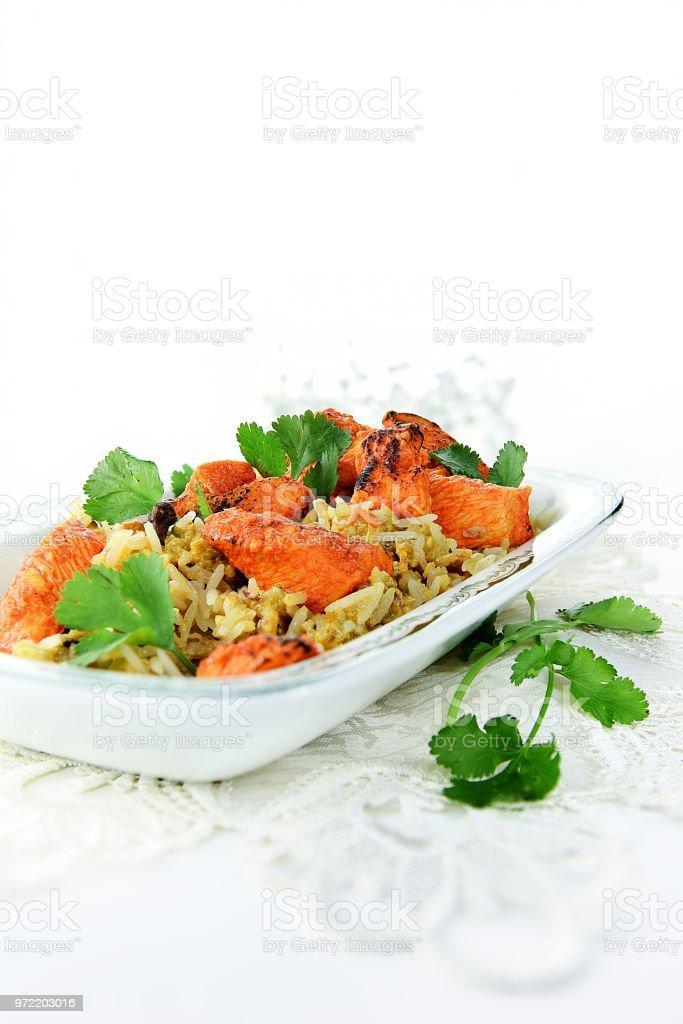 Indian Chicken Biryani NT stock photo