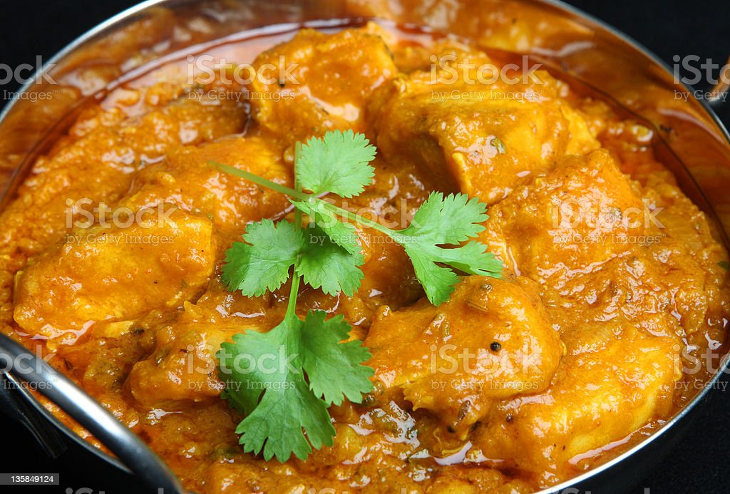 Indian Chicken Curry stock photo