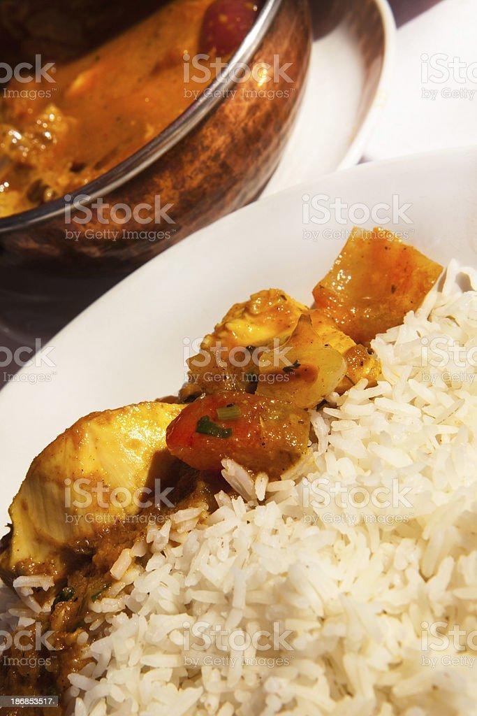 Indian chicken masala royalty-free stock photo