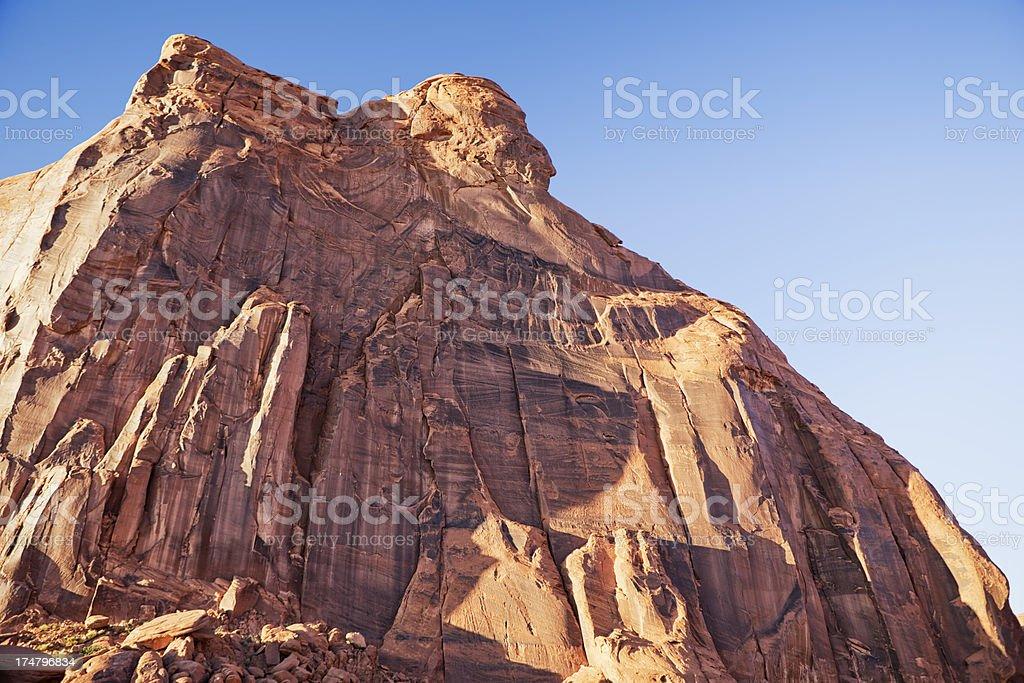 Photo Libre De Droit De Chef Indien Butte A Monument Valley Banque D