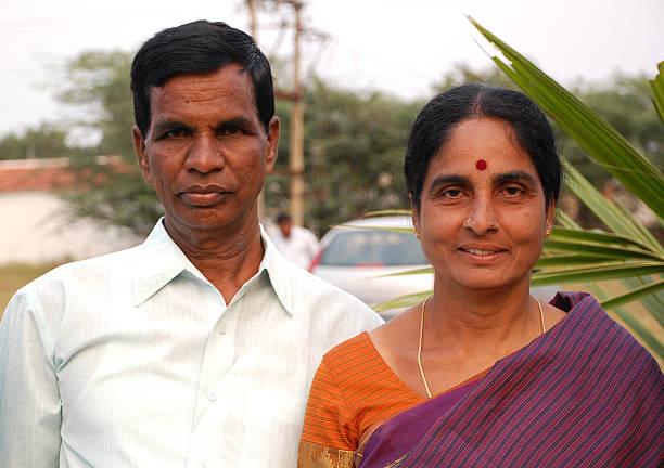 Indian Couple stock photo
