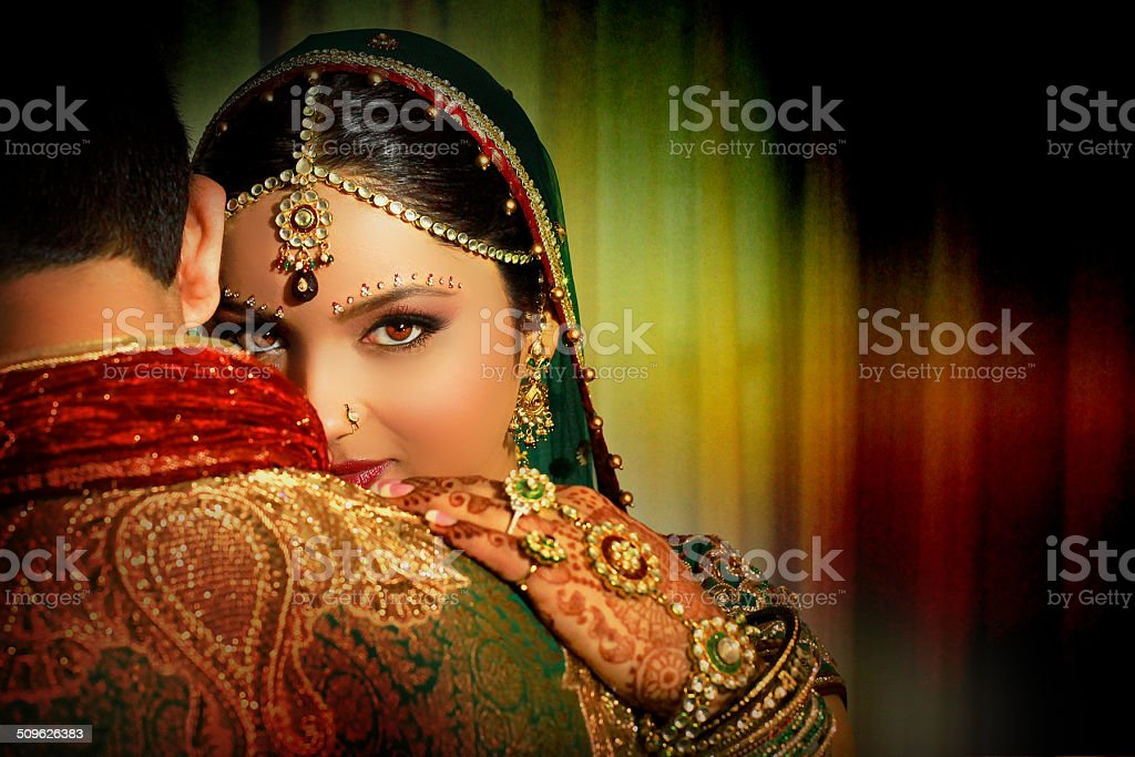 Indian Couple stock photo