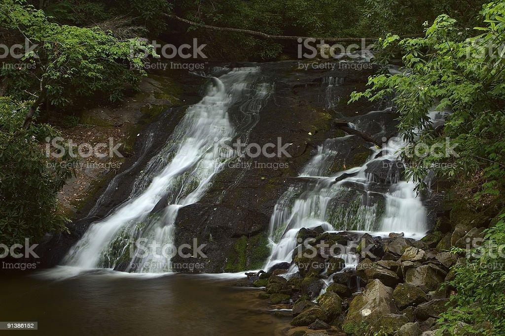 Indian Creek Falls royalty-free stock photo