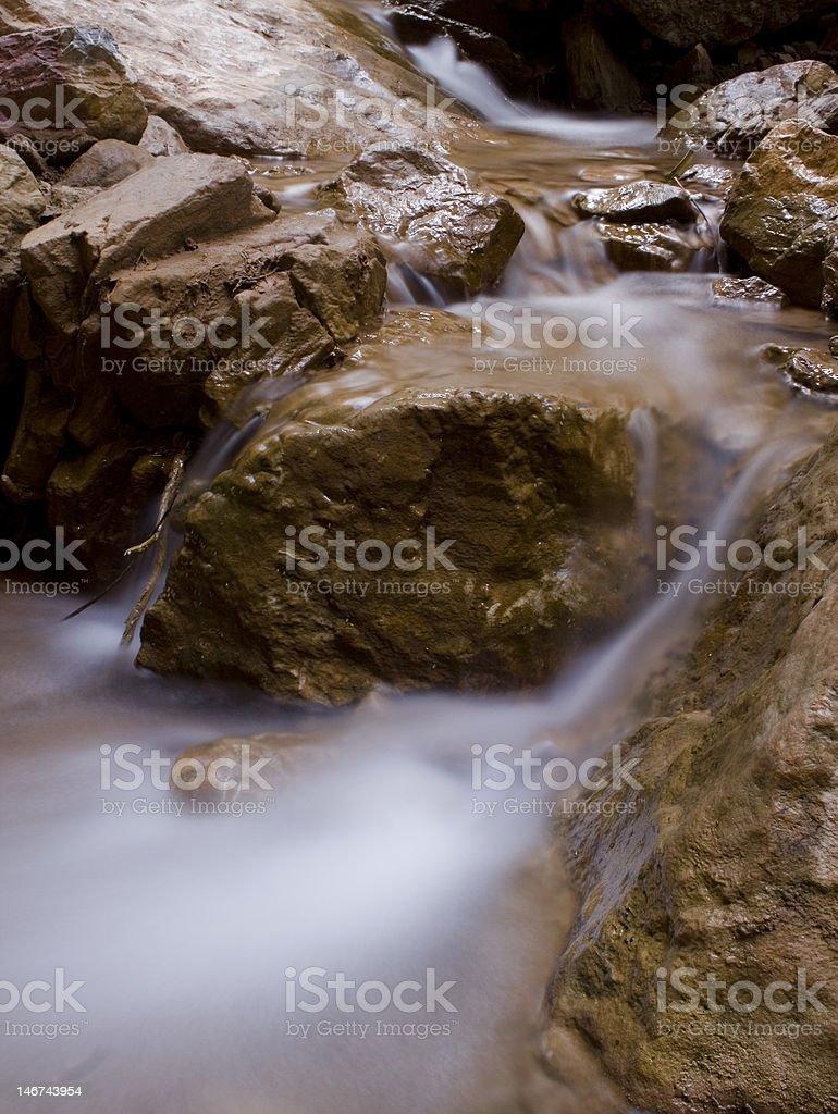 Indian Creek stock photo