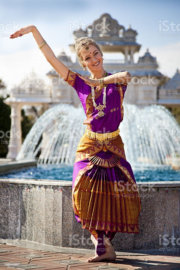 Indian Dance Performer stock photo