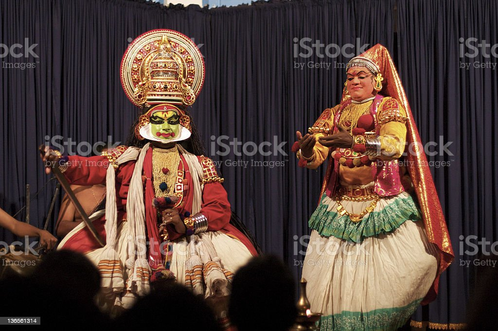 Indian Dance royalty-free stock photo
