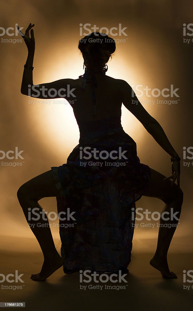 Indian Dancer royalty-free stock photo