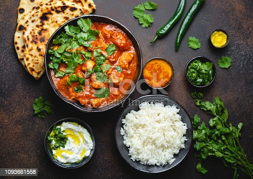 istock Indian dish Chicken tikka masala 1093661558