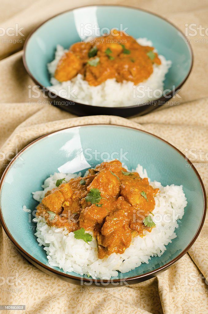 Indian dish - Chicken tikka masala stock photo