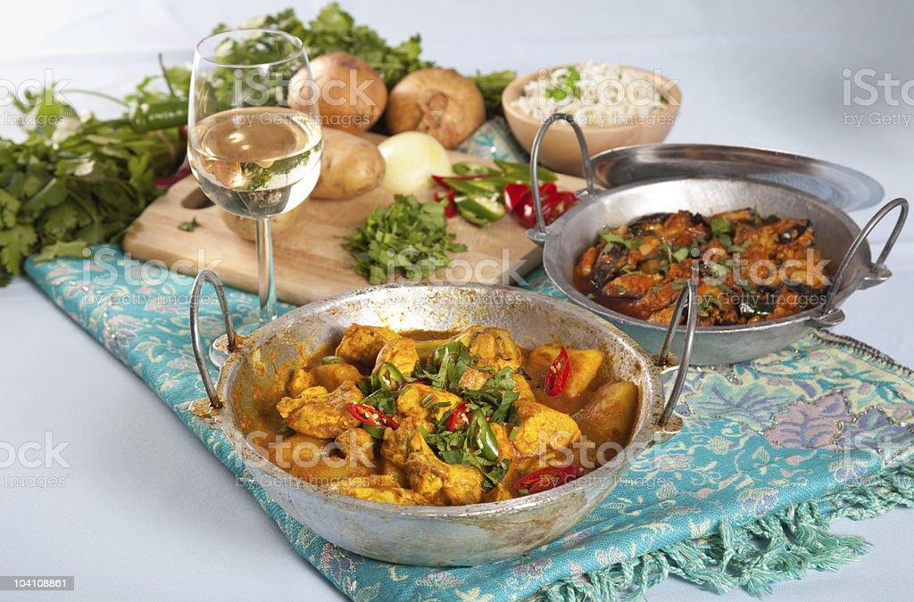 Indische Gerichte – Foto