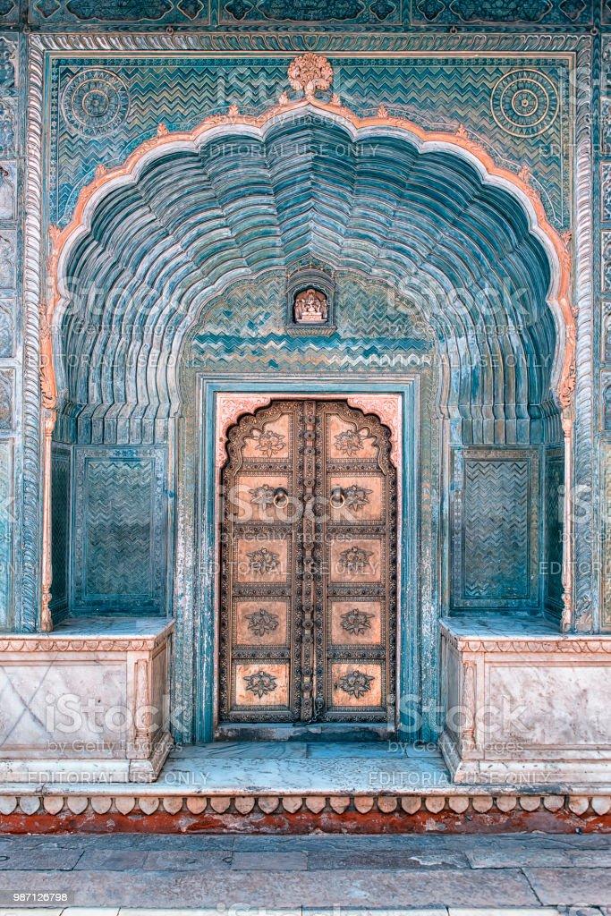 Indische Tur In Jaipur Stockfoto Und Mehr Bilder Von Alt
