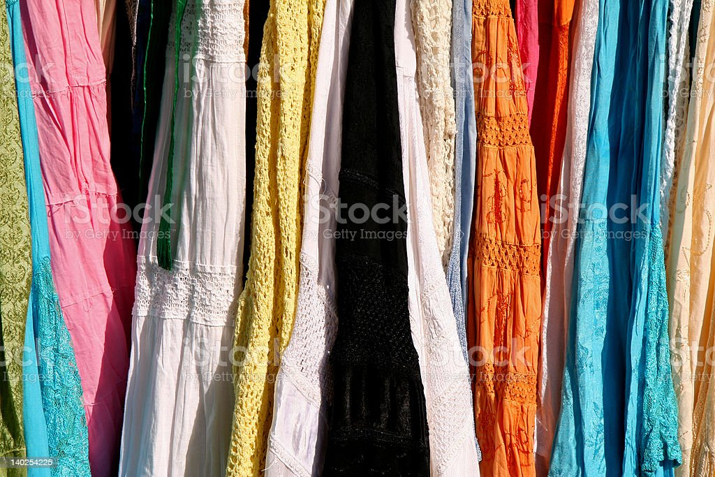 Indian Dress Patterns royalty-free stock photo