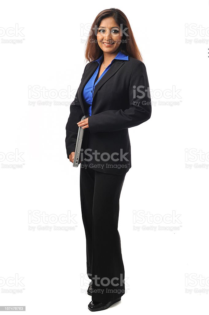 Indian executive royalty-free stock photo