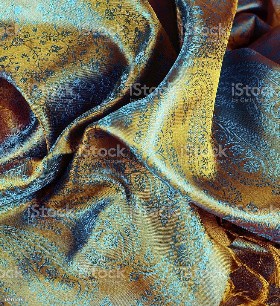 Indian fabric stock photo