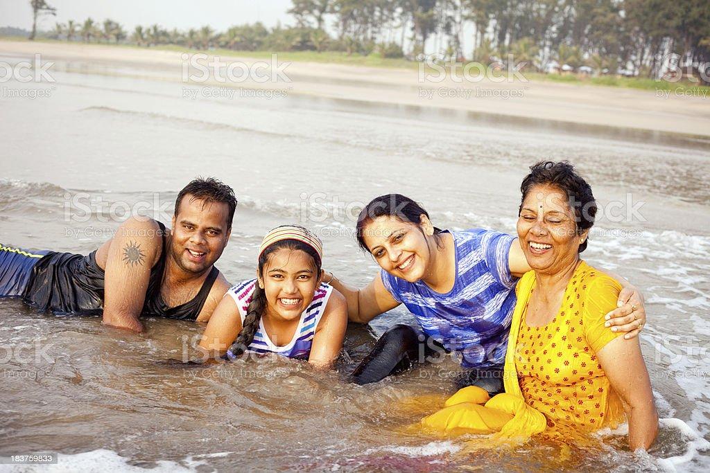 Indian family mother daughter enjoying vacations at konkan for Mother daughter vacation destinations