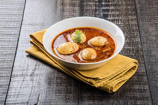 Indische berühmten Ei-curry oder undein Curry – Foto