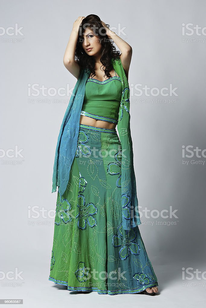 Indian Fashion royalty-free stock photo