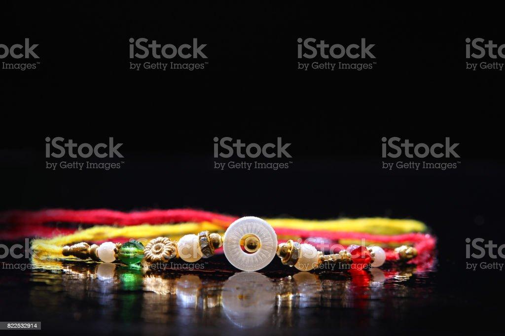 indian festival raksha bandhan , Rakhi stock photo