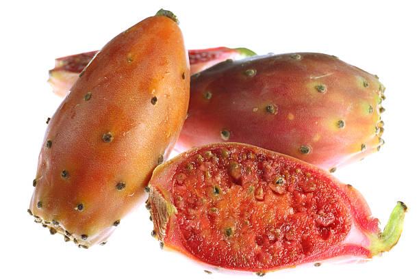 indian feige - kaktusfrucht stock-fotos und bilder