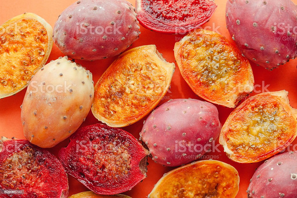 Indian figs still life stock photo
