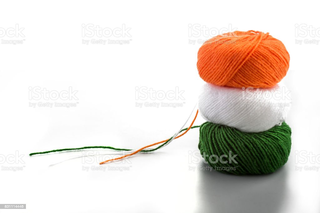 indian flag color concept stock photo