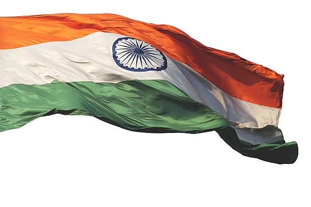 Indische Flagge – Foto