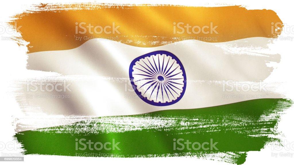 Bandeira Indiana - foto de acervo