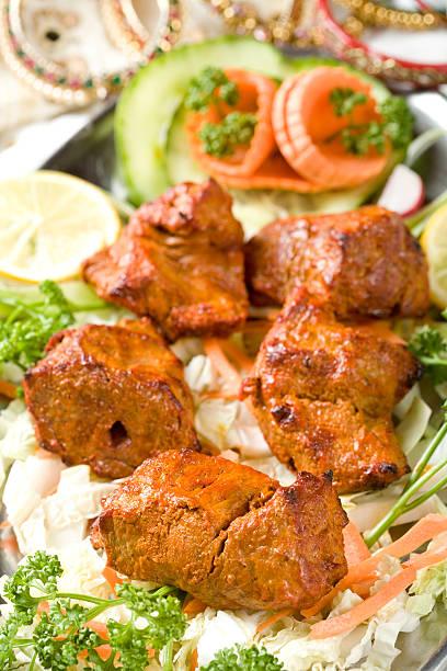 Indische Küche, Boti-Kebab. – Foto