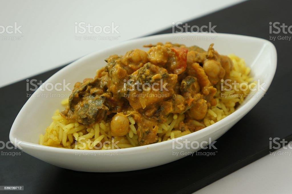 Comida hindú de calabaza vinatera foto de stock libre de derechos