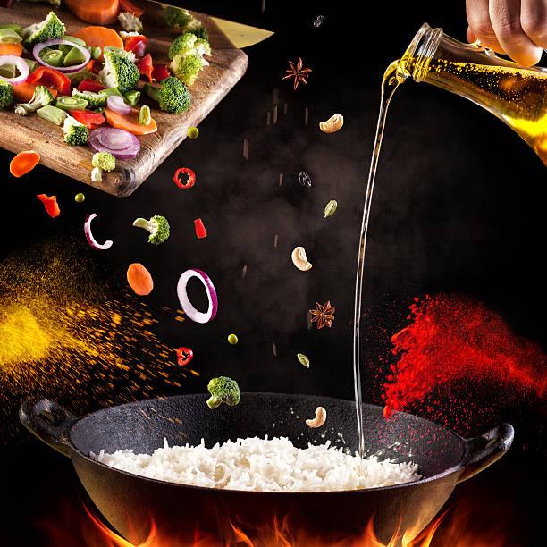 comida hindú cocina - comida india fotografías e imágenes de stock