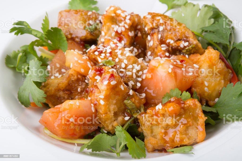 Indian food dish stock photo