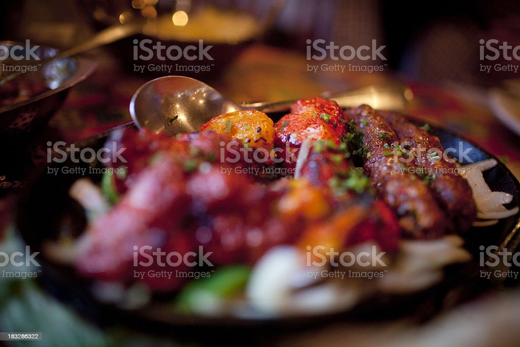 Indian food royalty-free stock photo