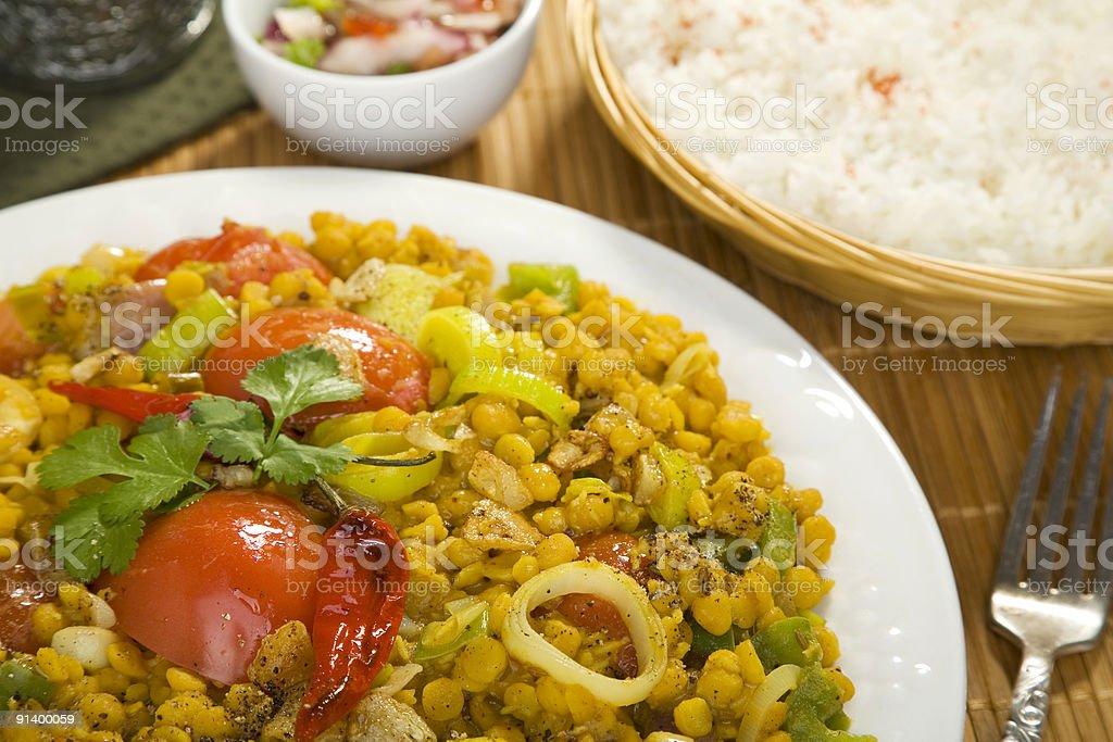 Indian Food Sambhar royalty-free stock photo