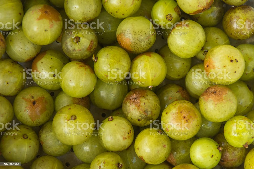 Indian gooseberry stock photo