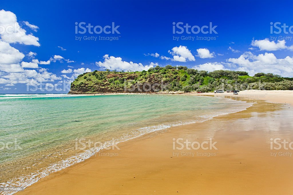 QE FI indian Head Beach North stock photo